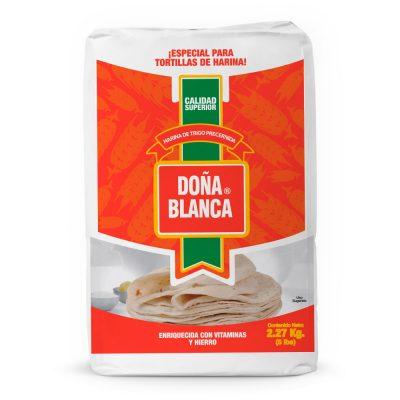 Harina de trigo Doña Blanca especial para tortillas de harina